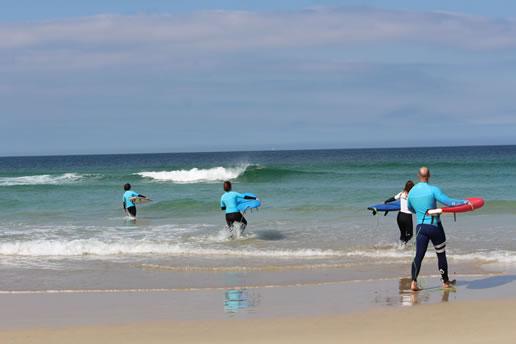 Playas de surf para principiantes