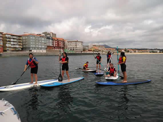Paddle surf en Galicia