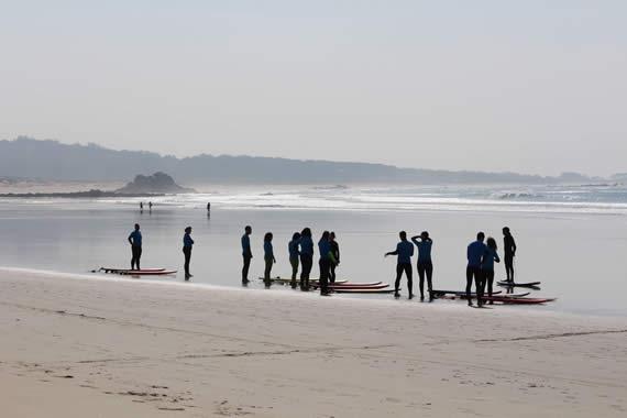 mejores playas para surfear en galicia
