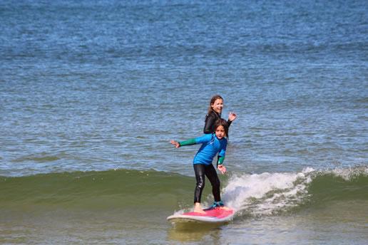 Curso surf iniciación