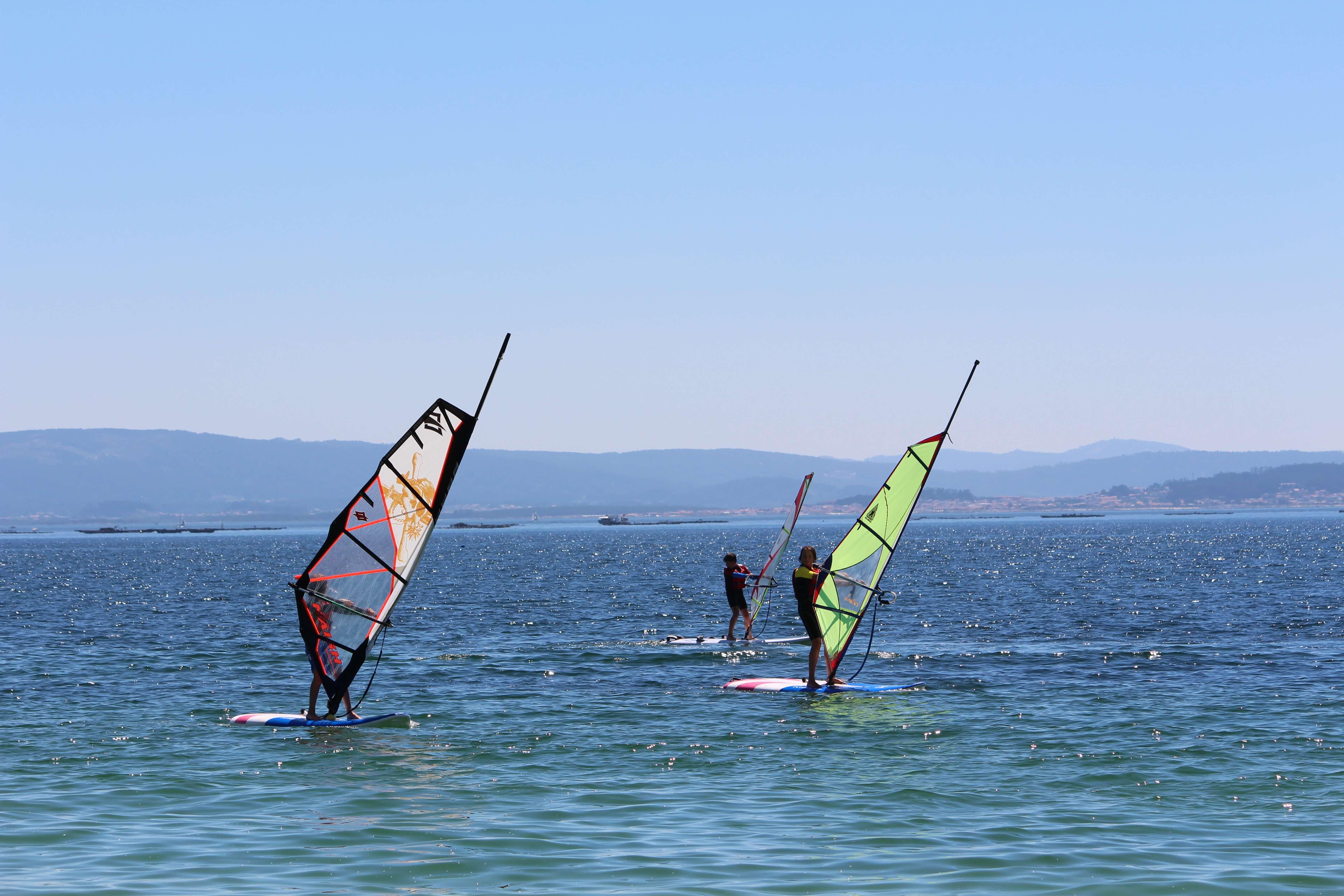 windsurf para niños